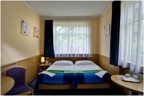 Hotel Jagello, Kamer met een tweepersoonbed - Boedapest
