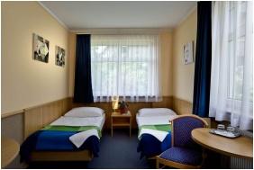 Hotel Jagello, Kamer met twee bedden - Boedapest
