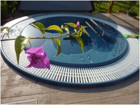 Whirl pool, Hotel Zsanett, Balatonkeresztur
