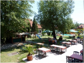 Hotel Zsanett, Terrace - Balatonkeresztur