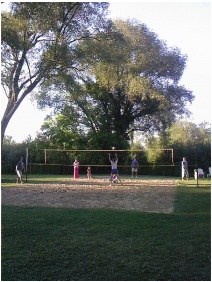 Volleyball ground - Hotel Janette