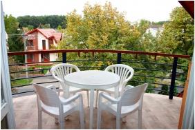 Balcony, Jarja Pension, Hajduszoboszlo