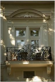 Homlokzat - Jókai Villa