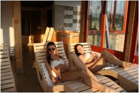 Sauna, Joo-to Ronk Guesthouse, Marcalgergelyi