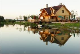 Joó-tó Rönk-vendégház, Épület - Marcalgergelyi