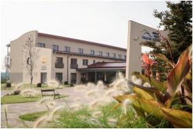 Jufa Vulkán Fürdő Resort, Épület