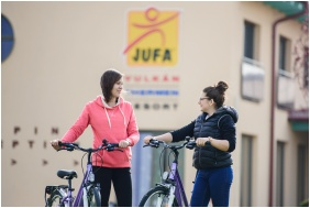 Jufa Vulkán Fürdő Resort, Celldömölk, Biciklizés