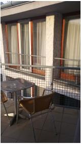 Kálvária-Rácz Hotel, Pécs, Balkon
