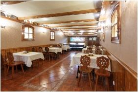 Dining room, Hotel Karin, Budapest