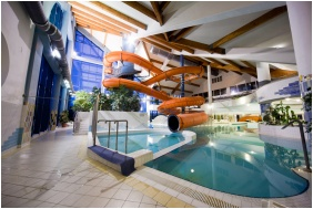 Adventure pool, Kehida Thermal Hotel, Kehidakustany