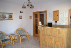 Reception area, Pension Kiskut Liget, Gyor