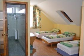 Pension Kiskut Liget, Room for four people