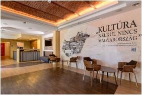 Reception area, Klebelsberg Kastély, Budapest