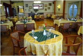 Étterem, Komfort Hotel Platán, Harkány