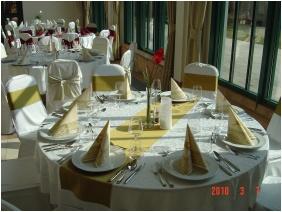 Weddingmeal setting