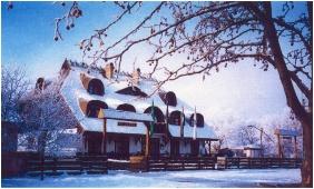 In the winter - Laci Betyar Inn