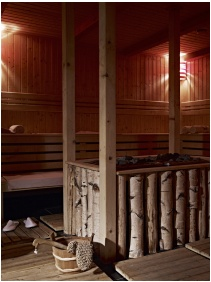 Finnish sauna, Lifestyle Hotel Matra, Matrahaza