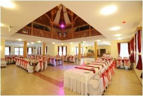 Malomkert Panzió, Esküvői teríték