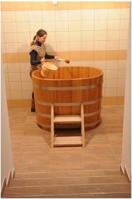 Pensıon Malomkert, Fınnısh sauna