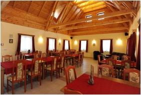 Pensıon Malomkert, Nağyborzsony, Restaurant