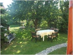 Inner garden, Margareta Pension, Sarospatak