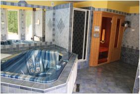 Mózer Wellness Vendégház, Alsópáhok, Pezsgőfürdő