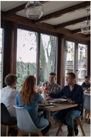 Étterem, Nádas Tó Park Hotel, Vasad