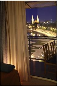 Novotel Szeged Hotel, Szeged, Alkony