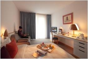 Novotel Szeged Hotel, Szeged, Double room with extra bed