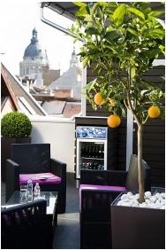 Opera Garden Hotel, Nyitott terasz - Budapest