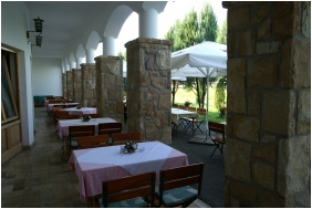 Oreg Halasz Hotel & Restaurant, Tat, Roof Terrace