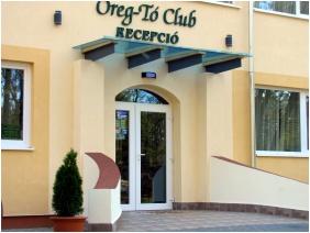 Oreg-to Club Hotel, Entrance