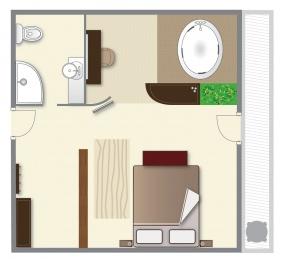 Residence Ózon Konferencia & Wellness Hotel, Mátraháza, Superior szoba
