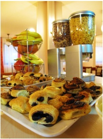 Pension Palatinus, Sopron, Breakfast