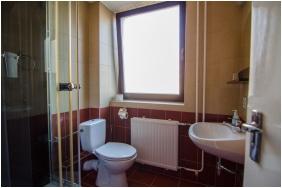 Fürdőszoba, Palatinus Panzió, Sopron