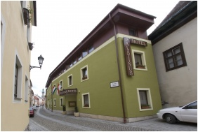 Entrance, Pension Palatinus, Sopron