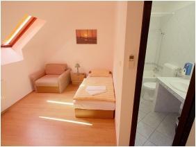 Single room, Aquilo Hotel Panorama Tihany, Tihany