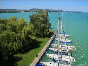 Aquilo Hotel Panorama Tihany, Boat launch