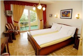 Pensiune Panorama - Eger, Camera cu doua paturi