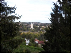 View to the street, Panorama Guesthouse, Miskolctapolca