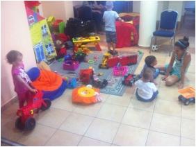 Pelso Panzió, Játszószoba gyerekeknek