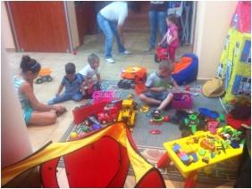 Pelso Panzió, Balatonmáriafürdô, Játszószoba gyerekeknek