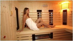 Plage Hotel, Infrared sauna