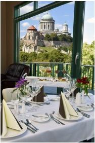 Banquet hall, Portobello Wellness & Yacht Hotel, Eszterom