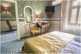 Hálószoba, Puchner Kastélyszálló, Bikal