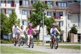 Plimbare cu bicikleta, Greenfield Hotel Golf & Spa, Buk, Bukfurdo