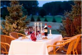 Greenfield Hotel Golf & Spa, Buk, Bukfurdo, Terasa