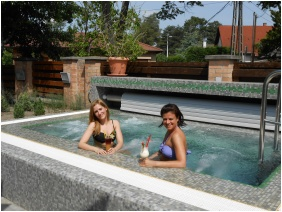 Residence Conference and Wellness Hotel, Siofok, Whirl pool