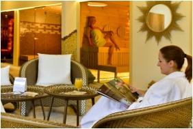Finnish sauna, Residence Conference and Wellness Hotel, Siofok