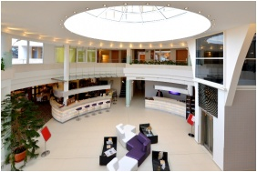 Reception area, Residence Conference and Wellness Hotel, Siofok